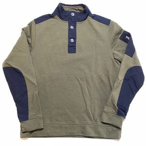 UNTUCKit Henley Sweatshirt Bolan Green 2018 Fall 2